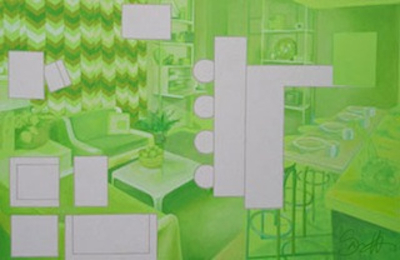 Green Living Room - Sarnoff