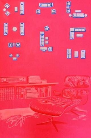Red Living Room - Sarnoff