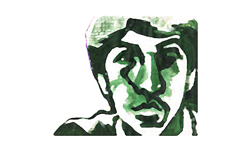 Self Portrait Green Matt Sarnoff